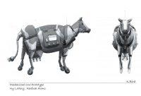 NY Lottery – Mechanical Cow Prototype
