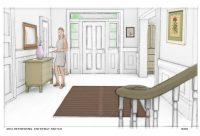 "Ikea ""Hallway Sketch"""