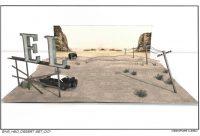 HBO Desert Set
